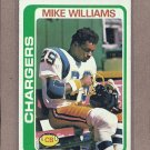 1978 Topps Football Mike Williams Chargers #152