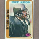 1978 Topps Football Reggie Harrison Steelers #194