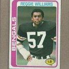 1978 Topps Football Reggie Williams Bengals #229