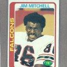 1978 Topps Football Jim Mitchell Falcons #263