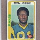 1978 Topps Football Ron Jessie Rams #283