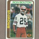 1978 Topps Football Ron Bolton Browns #329
