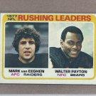 1978 Topps Football Rushing Leaders #333