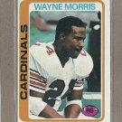 1978 Topps Football Wayne Morris Cardinals #381