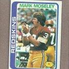 1978 Topps Football Mark Moseley Redskins #396