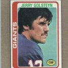 1978 Topps Football Jerry Golsteyn Giants #432