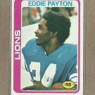 1978 Topps Football Eddie Payton Lions #487