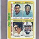 1978 Topps Football Oilers Team Card #511