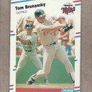 1988 Fleer Baseball Tom Brunansky Twins #5