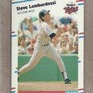 1988 Fleer Baseball Steve Lombardozzi Twins #16