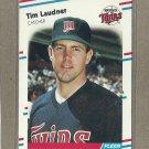 1988 Fleer Baseball Tim Laudner Twins #15