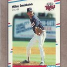 1988 Fleer Baseball Mike Smithson Twins #23