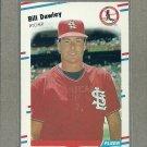 1988 Fleer Baseball Bill Dawley Cardinals #29
