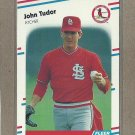 1988 Fleer Baseball John Tudor Cardinals #48