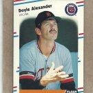 1988 Fleer Baseball Doyle Alexander Tigers #51