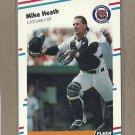 1988 Fleer Baseball Mike Heath Tigers #56