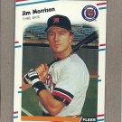 1988 Fleer Baseball Jim Morrison Tigers #65