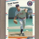 1988 Fleer Baseball Frank Tanana Tigers #71