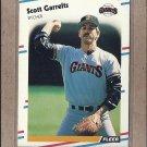 1988 Fleer Baseball Scott Garrelts Giants #82