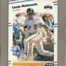 1988 Fleer Baseball Candy Maldonado Giants #89