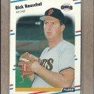 1988 Fleer Baseball Rick Reuschel Giants #94
