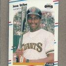 1988 Fleer Baseball Jose Uribe Giants #99