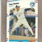 1988 Fleer Baseball Tom Henke Blue Jays #112
