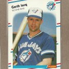 1988 Fleer Baseball Garth Iorq Blue Jays #113