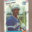 1988 Fleer Baseball Nelson Liriano Blue Jays #117