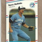 1988 Fleer Baseball Rance Mulliniks Blue Jays #120