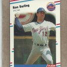 1988 Fleer Baseball Ron Darling Mets #132