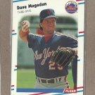 1988 Fleer Baseball Dave Magadan Mets #141