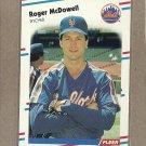 1988 Fleer Baseball Roger McDowell Mets #142