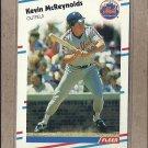 1988 Fleer Baseball Kevin McReynolds Mets #143