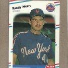 1988 Fleer Baseball Randy Myers Mets #146