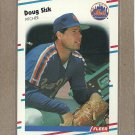 1988 Fleer Baseball Doug Sisk Mets #150