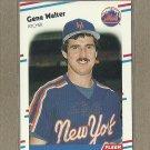 1988 Fleer Baseball Gene Walter Mets #153