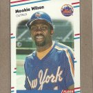 1988 Fleer Baseball Mookie Wilson Mets #154