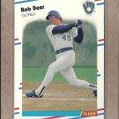 1988 Fleer Baseball Rob Deer Brewers #163