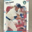 1988 Fleer Baseball Dale Sveum Brewers #176