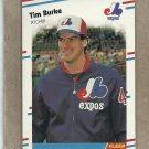 1988 Fleer Baseball Tim Burke Expos #180