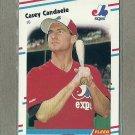 1988 Fleer Baseball Casey Candaele Expos #181