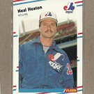 1988 Fleer Baseball Neal Heaton Expos #185