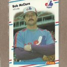 1988 Fleer Baseball Bob McClure Expos #189