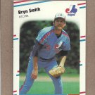 1988 Fleer Baseball Bryn Smith Expos #196