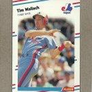 1988 Fleer Baseball Tim Wallach Expos #198