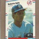 1988 Fleer Baseball Roberto Kelly RC Yankees #212