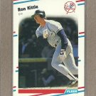 1988 Fleer Baseball Ron Kittle Yankees #213