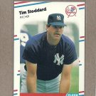 1988 Fleer Baseball Tim Stoddard Yankees #222