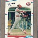 1988 Fleer Baseball Eric Davis Reds #231